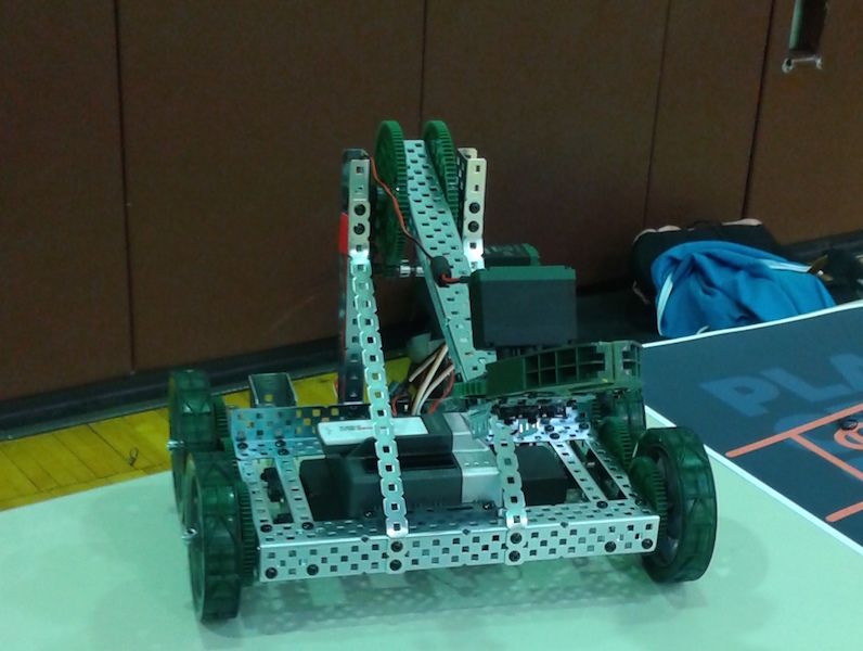 Becton's Robotics Club places first at SBJC Innovation Fair