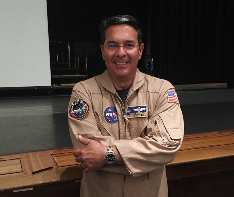 Becton graduate visits alma mater to speak about military, NASA career