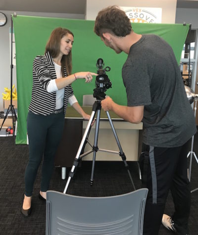 Becton offers first-time TV Broadcasting elective
