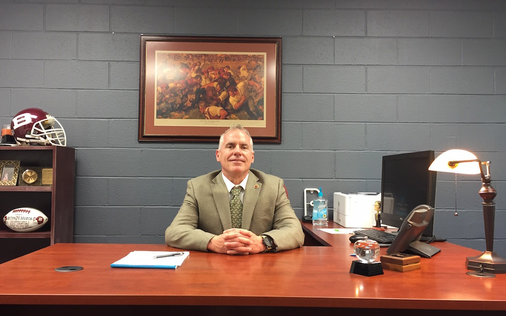 "Acting Assistant Principal Mr. James Bononno stated, ""There's a learning curve for every new position, but navigating through that has been exciting and fun."