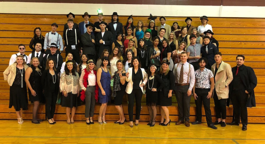 Mrs. Gatto's English classes celebrate The Great Gatsby