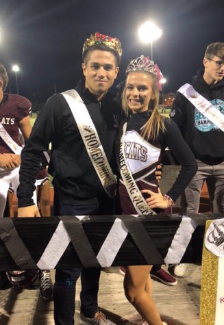 Thomas & Nazco crowned Homecoming King and Queen