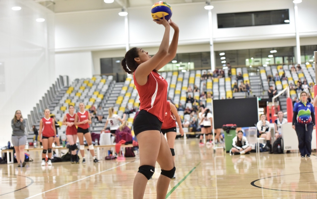 Senior Jaylen Nuila attended a ten-day volleyball tournament this past July.