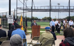 East Rutherford field re-dedicated to Captain Charles H. Riggin
