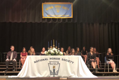 Nine new members inducted into National Honor Society