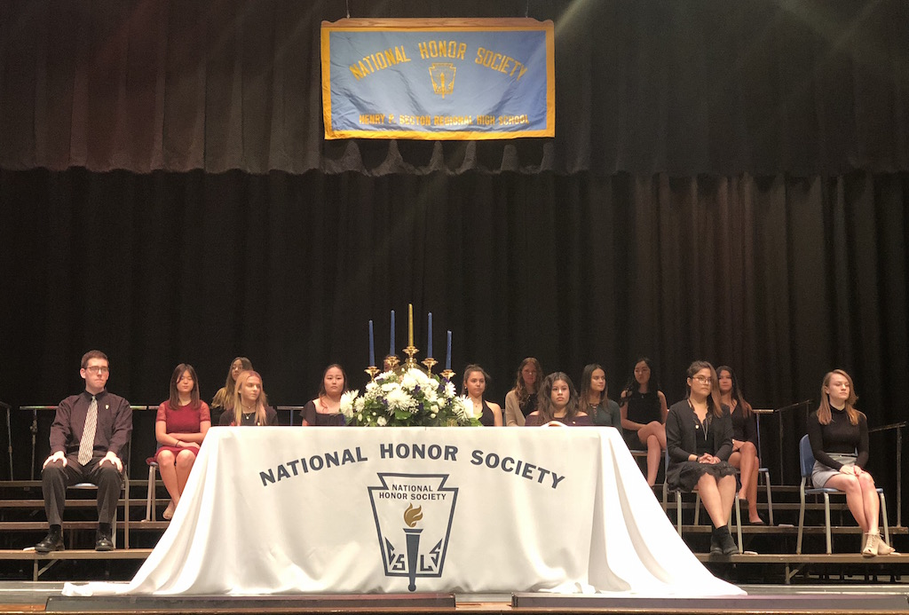 Nineteen of Becton's finest students have been inducted into the National Honor Society.