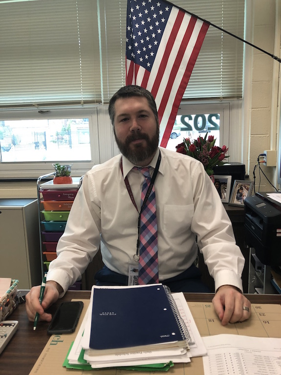 Mr. Thomas McGuire joined the Becton Regional High School faculty in October 2018.