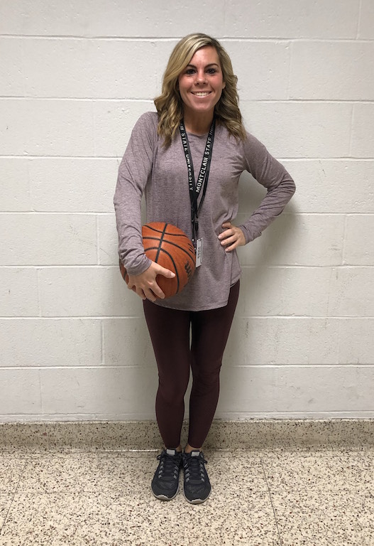 Ms. O'Driscoll has recently been hired as assistant coach of the Becton Girls Basketball Team for the 2018-2019 season.
