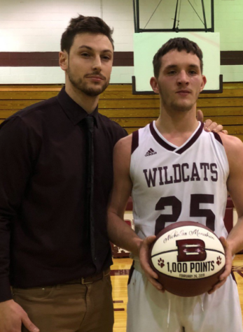 Varsity basketball athlete Monahan earns 1000th point