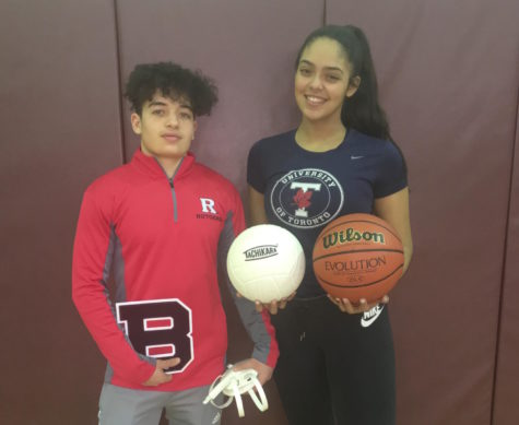Senior Cabezas scores 1,000 points during Becton Basketball career