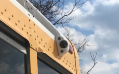 Surveillance cameras installed on Becton school buses