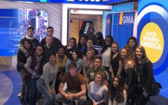 Communications students gain a behind-the-scenes look at Good Morning America