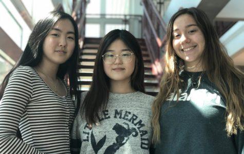 Catherine Kim, Martha Kato & Salome Siradze
