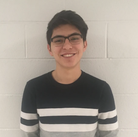 Junior Arturo Santana Gallegos will be attending The ACE Project's educational program at the start of spring break.