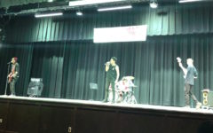 Junior Ochoa & his band take home 1st place at talent show