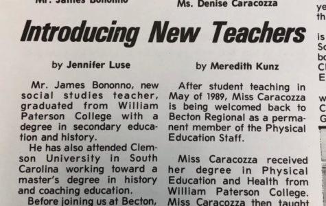 Introducing New Teachers