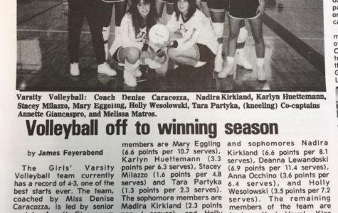 Volleyball off to winning season