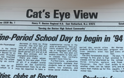 Nine-Period School Day to Begin in '94