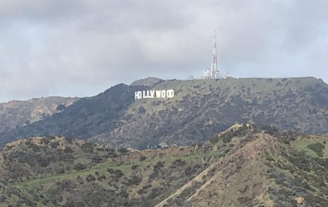The Hollywood Sign catches your eye from the Griffith Observatory.