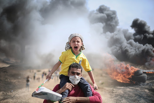 Palestinian men, women, and children have been caught up in all of the chaos of the constant attacks by the Israeli government in Gaza.