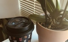 Coffee cups are a usual site on a teachers desk and young people often use caffeine to stay energized while studying.