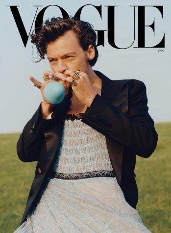 Musician Harry Styles wears a dress on the cover of Vogue causing a great debate across social media.