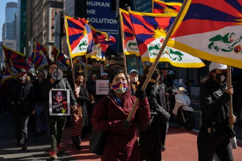 On March 10th, Tibetan women, men, and children flooded the streets in a roar against the unlawful occupation of their homeland Tibet and the authoritarian rule of the Chinese government.