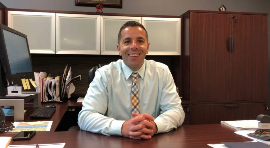 Since 2014, Dr. Dario Sforza has helped Becton Regional High School to advance by focusing on students and staff.